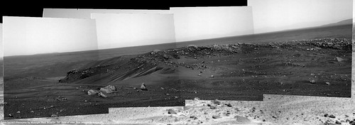 Spirit Sol 603 Closeup