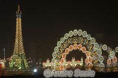 Vista geral com Torre Eiffel