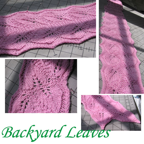Backyard Leaves -SYNO
