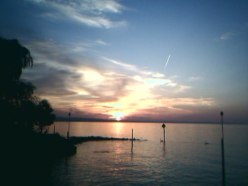 Sunset over the Lale of Constance