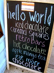 Chocolate Bar offerings