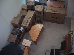 New Apartment Full of Boxes
