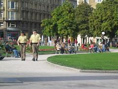 Polizisten in Stuttgart