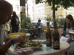 Avocado Nan at der Imbiss, Kastanianallee, Prenzl-berg, Berlin