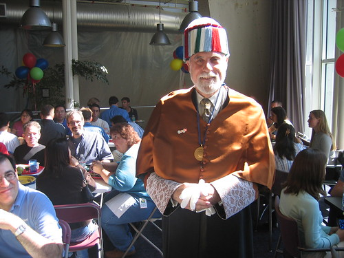 Vint Cerf's first day at Google