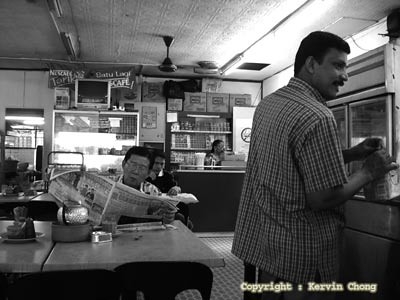 Mamak-stall