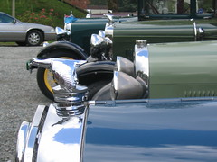 Model A's Lined up in a Row