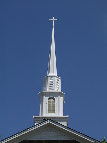 ...here's the steeple