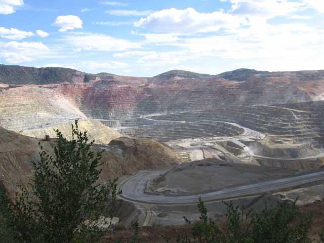 Santa Rita pit mine