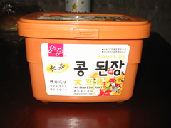 Korean soy bean paste