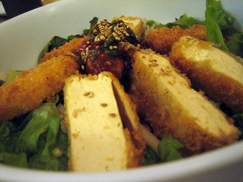 Crazy tofu special