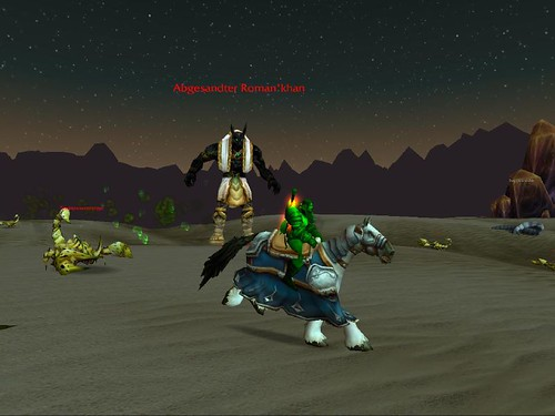 Boss in Silithus
