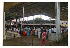 People at Kollur Mookambika Temple