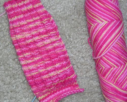fluted banister sock 1