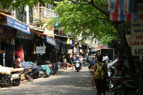 A Quite Street, Hanoi
