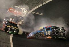 Tony Stewart crash