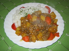 Japanese style curry