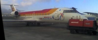 El avión de Air Nostrum