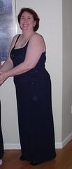Sweetie in her dress