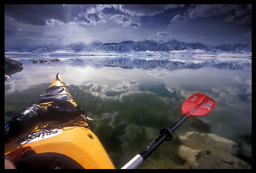 Mono Lake Winter Kayaking2