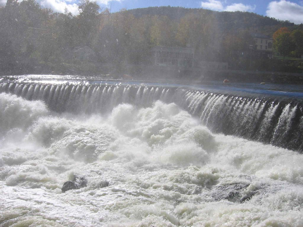 Photo of water over the dam