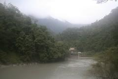 山嵐籠罩的南勢溪谷