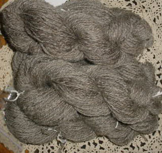 Hand Spun Natural Coopworth Wool Skeins