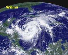 Hurricane Wilma - NOAA Map