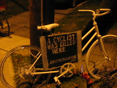 ghost bike PDX