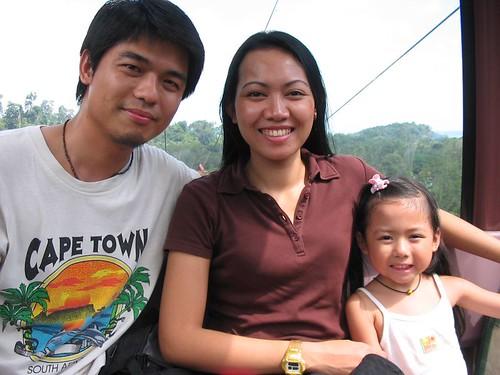 Darren, Yanti and Dylea