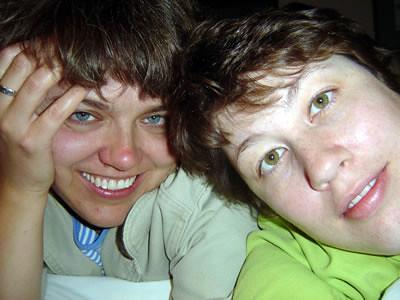 Ashley and Sue