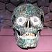 Inlaid Human Skull AD 550-950