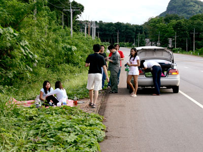 Samui Car Breakdown