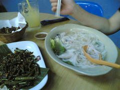 Date Night- sliced fish beehoon soup