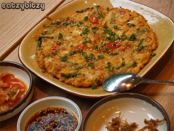 FdRep Kimchi Pancake
