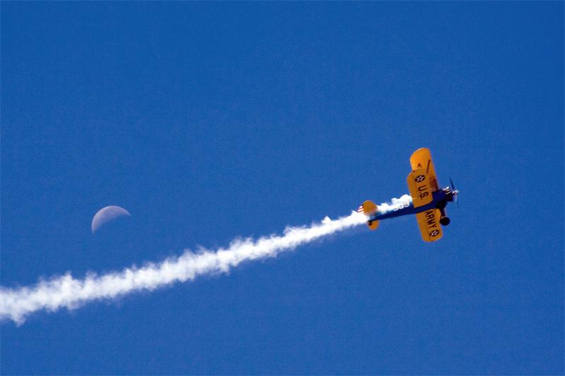 Bi-Plane & Moon