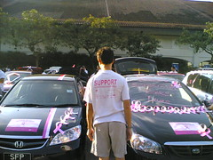 Live from the Pink Ribbon Treasure Hunt 2005