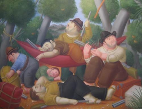 Guerrilla de Eliseo Velasquez by Fernando Botero