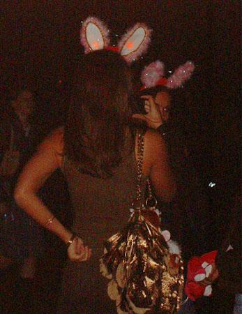 Fashion Victim at Fireworks Display