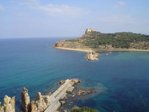 Tabarka's Fortress Island