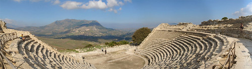 Griechisches Theater in Segesta