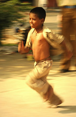 run kid run.....fast.....