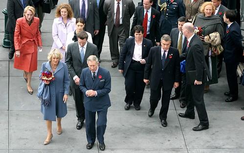 Prince Charles, Camilla Parker Bowles, Mayor Gavin Newsom, Kimberly Guilfoyle, Charlotte Swig Shultz, 2