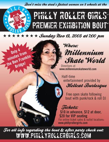 Philly Roller Girls Exhibition Bout