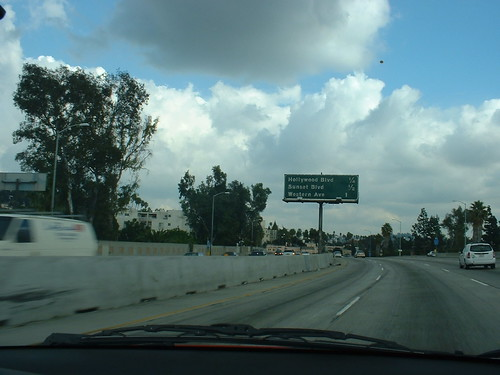 On I-5 going to Anaheim