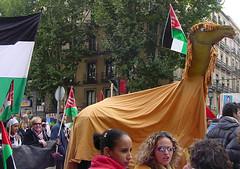 manifestación pro sahara