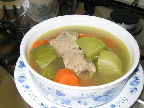Green Radish Soup