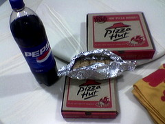 Pizzahut Delivery dinner