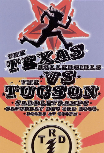 Texas Rollergirls vs Tucson Saddletramps