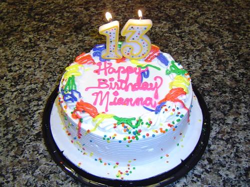 Happy 13th BDay Mianna